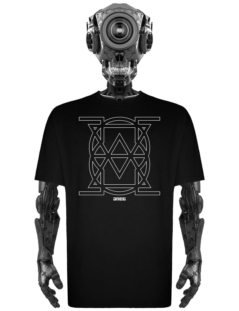 Cyber Sigil (Empty) Unisex T-Shirt - JPEG Cyber Store Goth Geek Alternative Clothing
