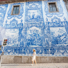 Portuguese Azulejos in the city of Porto
