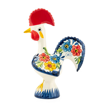 Viva Rooster Ceramic Portuguese Rooster Figurine