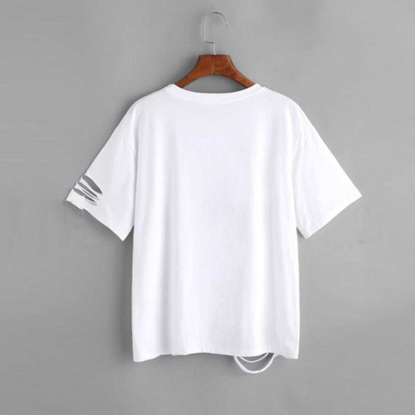 WHAT EVER  T-shirt - Enkeechi, online shopping USA,  online womens clothes shopping