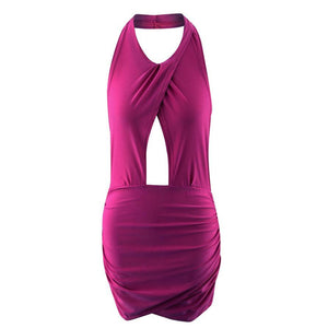 Backless Evening Party Club Dress - Enkeechi, online shopping USA,  online womens clothes shopping
