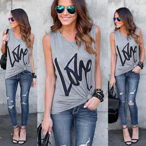 LOVE High Fashion Ladies T-Shirt - Enkeechi, online shopping USA,  online womens clothes shopping