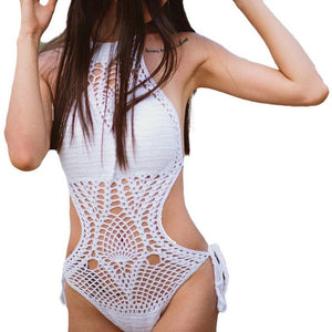 UCrochet One-piece Swimwear Bathing Suit - Enkeechi, online shopping USA,  online womens clothes shopping