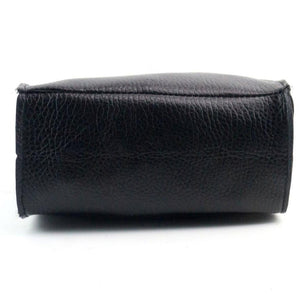 Designer Black Leather Hand Bag - Enkeechi, online shopping USA,  online womens clothes shopping