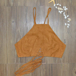 Rustic Halter Top - Enkeechi, online shopping USA,  online womens clothes shopping