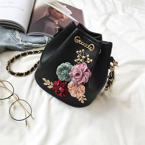Ladies Fashion Applique Shoulder Bag - Enkeechi, online shopping USA,  online womens clothes shopping
