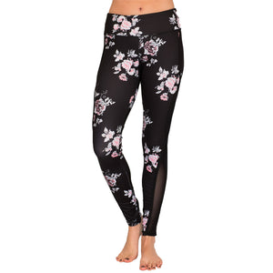 Floral Mesh Leggings