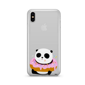 Pandonut - Clear TPU iPhone Case / Samsung Case Phone Cover