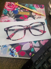 Load image into Gallery viewer, Funky Floral Anti-Fatigue Computer Glasses