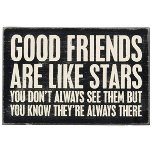 Wooden Postcard - Good Friends