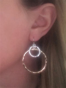 Double Circle Dangles