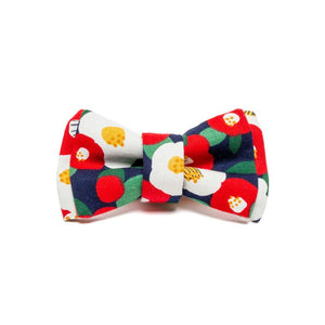 EAT PLAY WAG CAMELIA BOW TIE