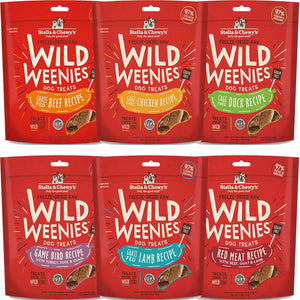 Stella & Chewy Wild Weenies Freeze Dried Treats-3.25 oz