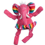 HUGGLE HOUNDS KNOTTIES RAINBOW ELEPHANT