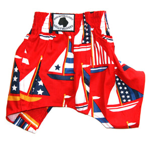 DOG IN THE CLOSET BELLY BOXERS FOR DOGS SAILBOATS