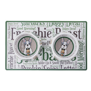 STARBARKS FRENCHIE ROAST PLACEMAT