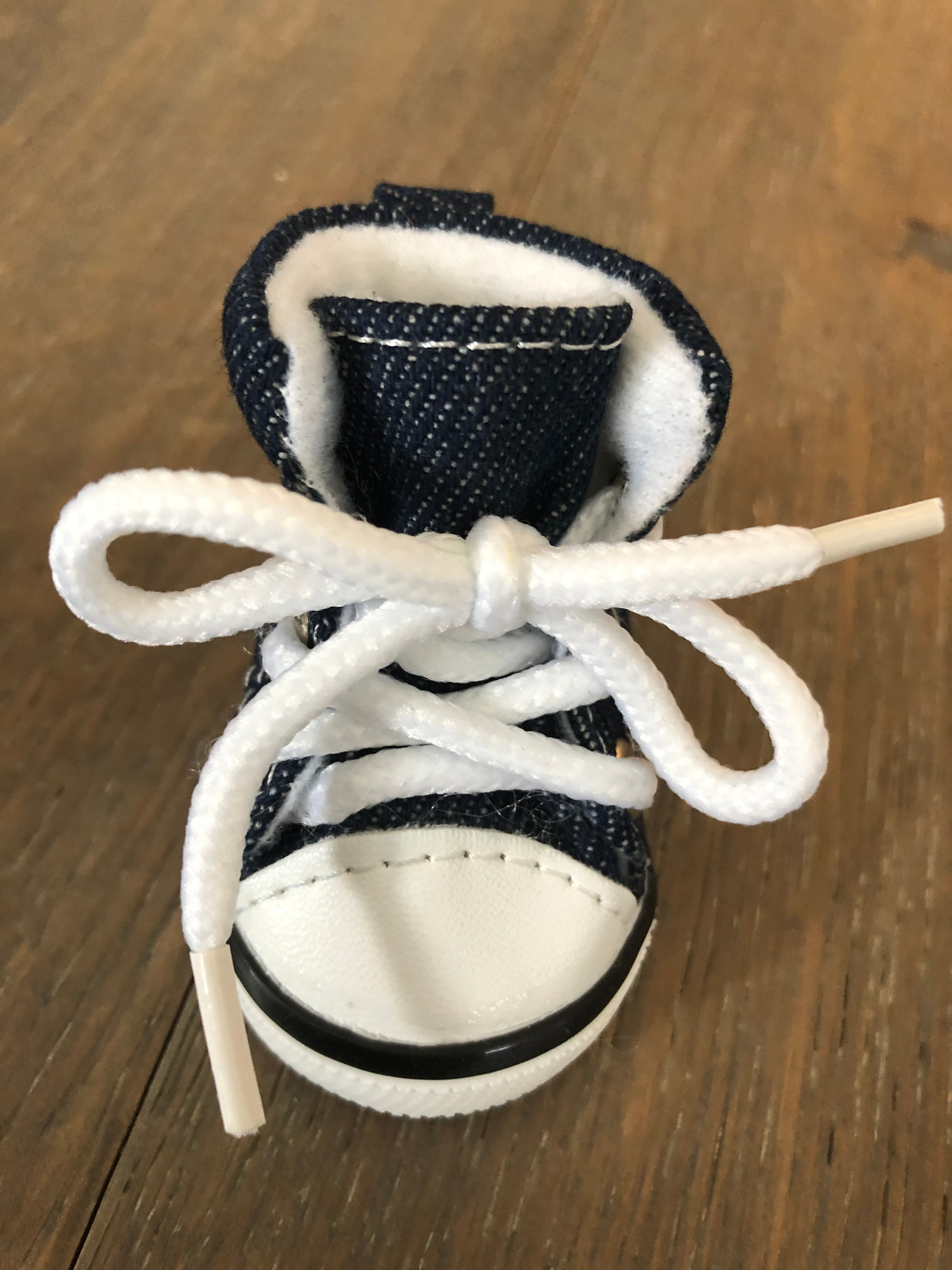 Denim Dog Sneakers