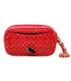 PET WITH PAWS ZUZU POOP BAG WRISTLET RED