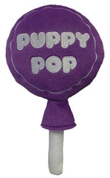 Puppy Pop-Grape-Power Plush Toy