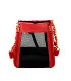 PET WITH PAWS COCO CARRIER RED
