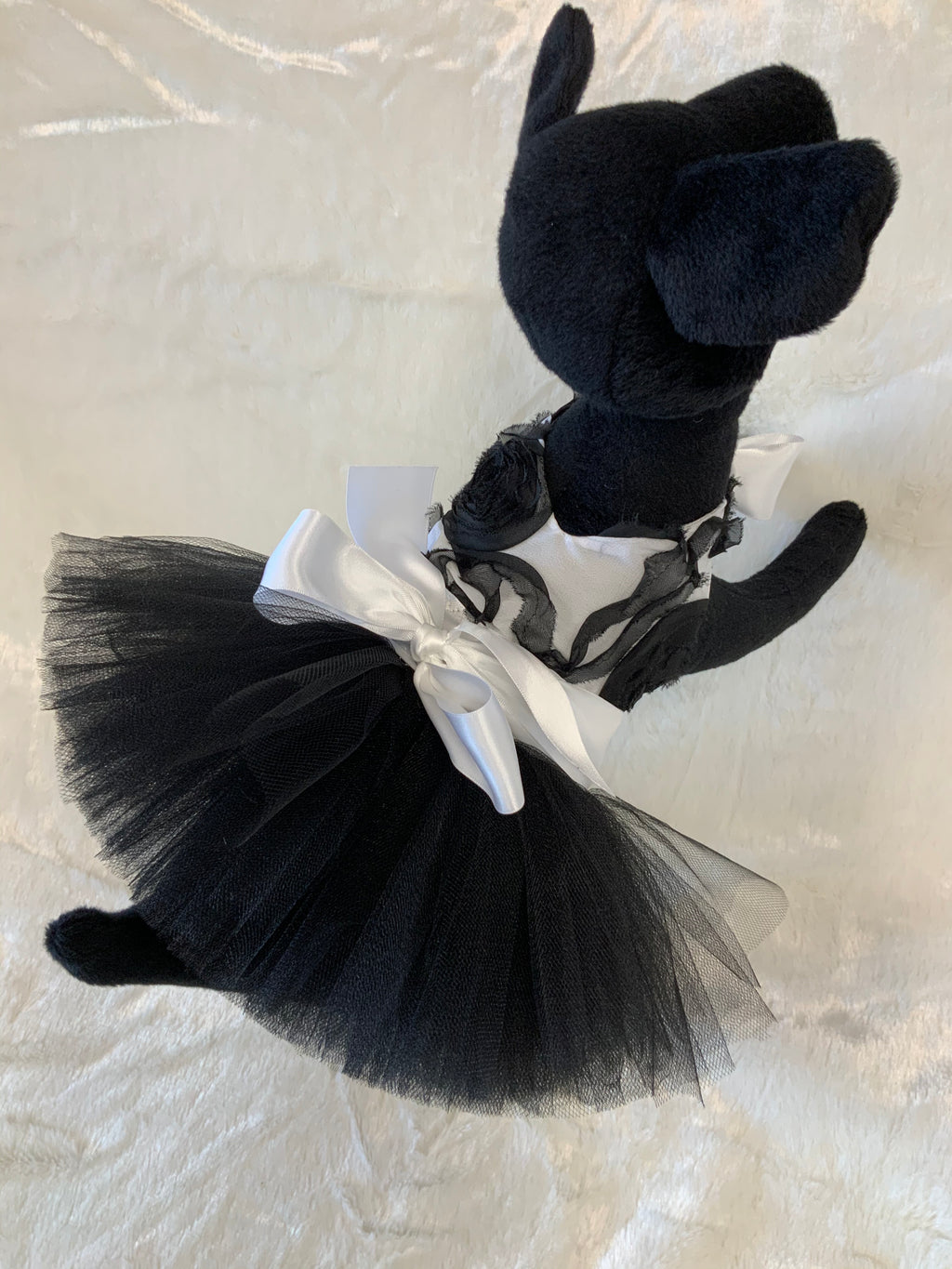 BOCHINI TUTU DRESS BLACK  ROSE