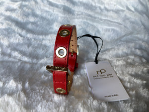 NOTTOOPET GROMMET COLLAR RED
