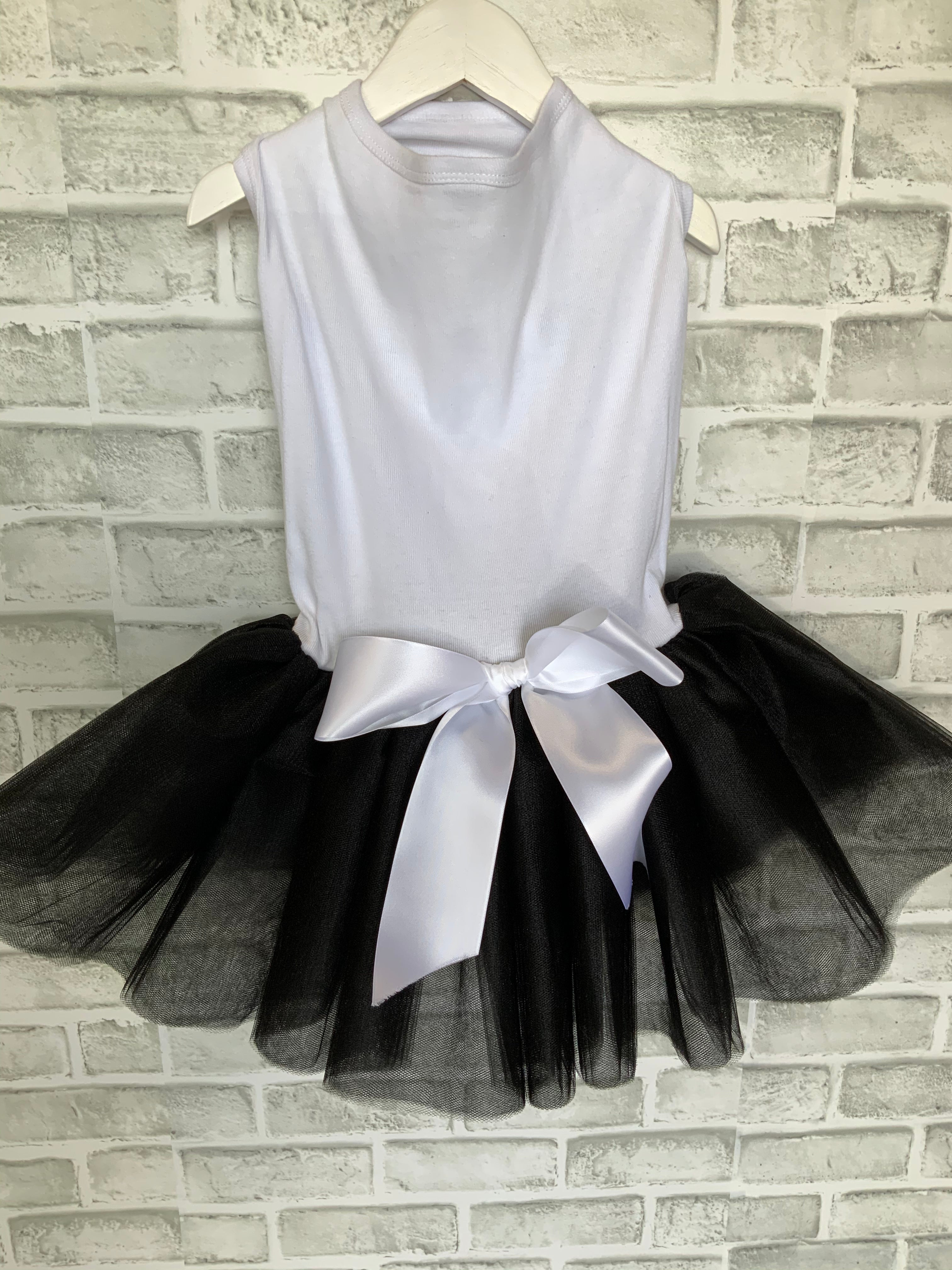 DOG IN THE CLOSET ROYALTY DRESS BLACK TUTU