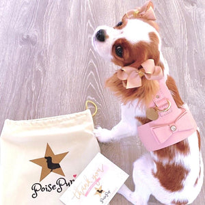 POISE PUP HARNESS BELLA ROSE
