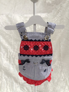 TONI MARI NAUTICAL BABY JUMPER DRESS