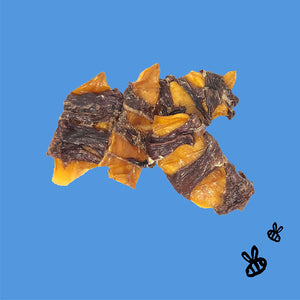 HIH HONEY COATED BUFFALO TREATS MANGO JERKY
