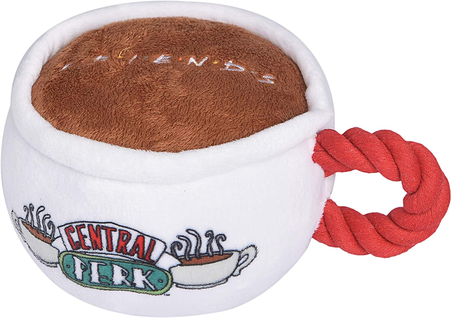 FETCH FOR PETS FRIENDS: CENTRAL PERK COFFEE MUG PLUSH TOY