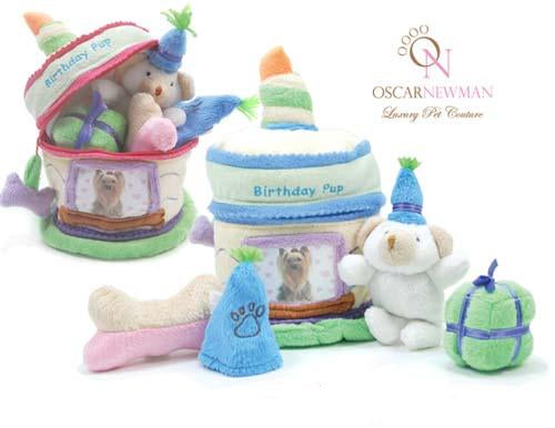 Oscar Newman Birthday Surprise Cake Toy-Blue
