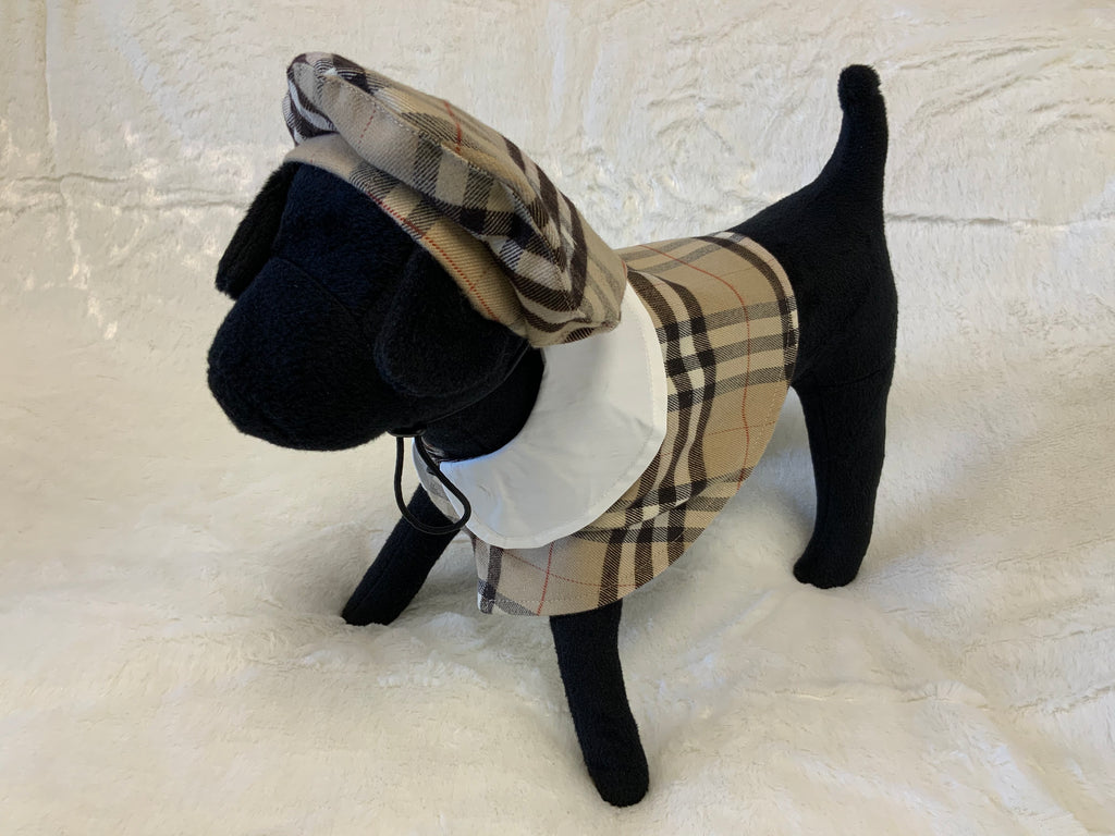 BAD-DOG DESIGNER PET CLOAK W/BERET