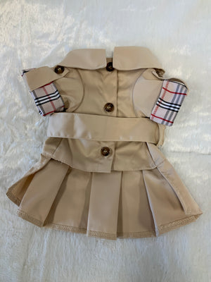 KHAKI DRESS COAT
