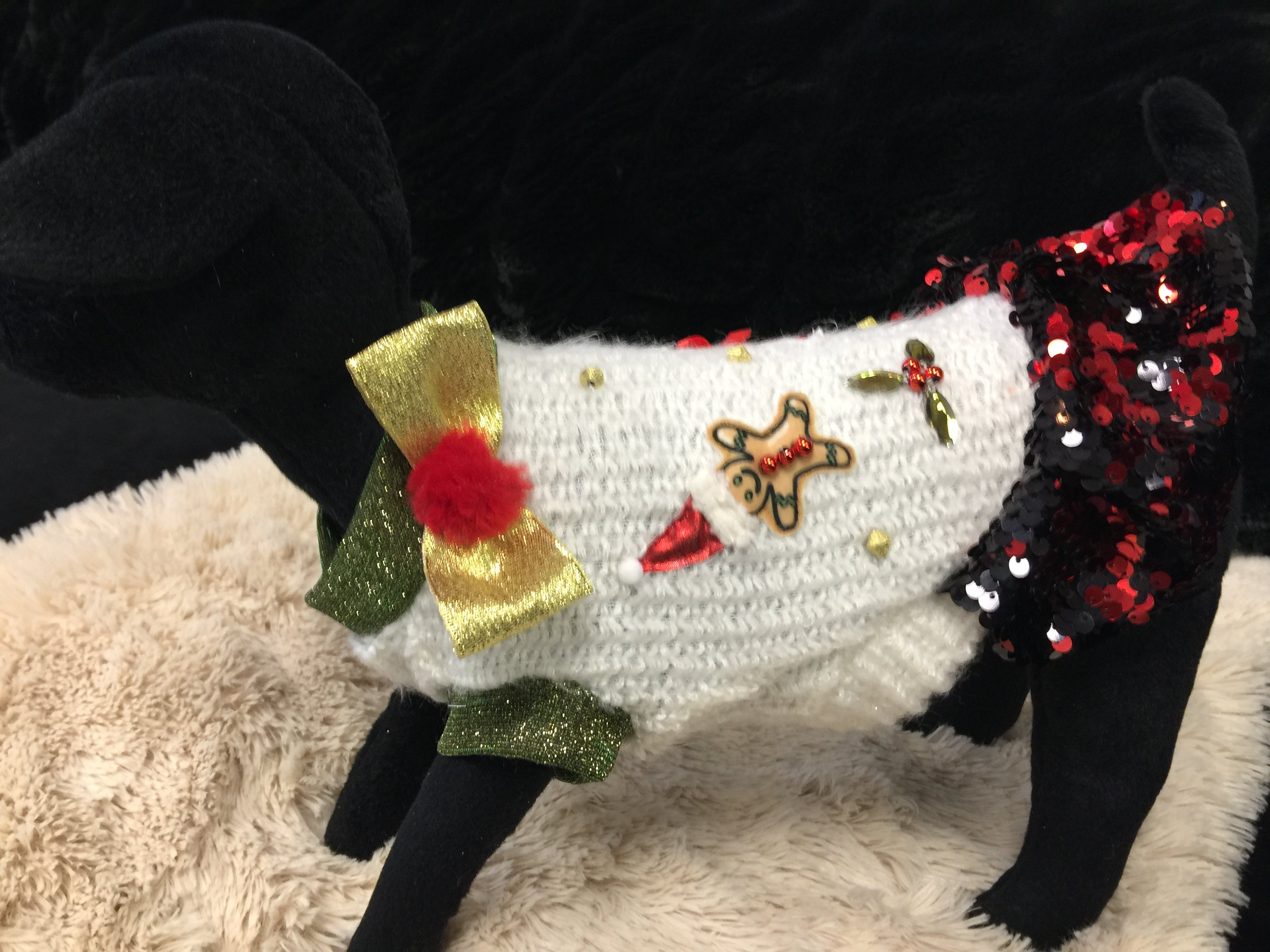 Suck Right Sweater w/Sequins