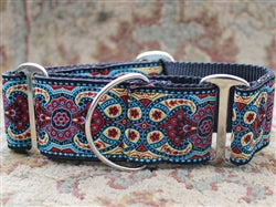 Diva Dog Temple Red Martingale X-Wide Collar