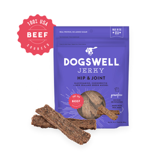 DOGSWELL JERKY HIP & JOINT BEEF 10 OZ