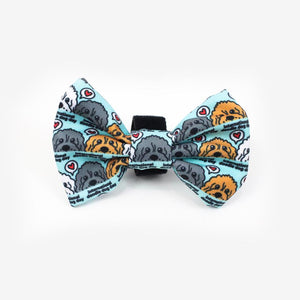 RIPLEY & RUE INTERNATIONAL DOODLE DAY BOW TIE