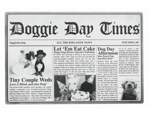 ORE DOGGIE DAY TIMES PLACEMAT