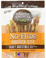 Earth Animal Dog Treat No Hide Chicken Chew Stix Small 10 Pack