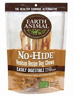 Earth Animal Dog Treat No Hide Venison Chew Stix 10 Pack
