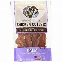 EARTH ANIMAL CHICKEN CUTLETS USA 8 OZ CALM ANXIETY