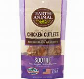 EARTH ANIMAL CHICKEN CUTLETS USA 8 OZ SOOTHE DIGESTION