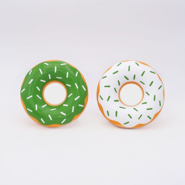 ZIPPY PAWS  ST.PATRICK'S LATEX DONUTZ 2-PACK