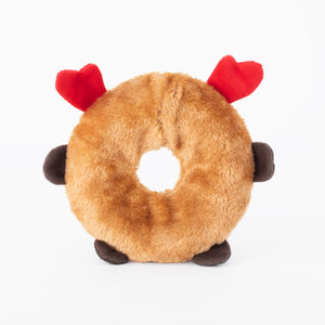 ZIPPY PAWS HOLIDAY DONUTZ BUDDIES PEINDEER