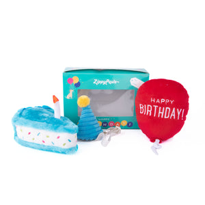 Zippy Paws Birthday Box 3 pcs