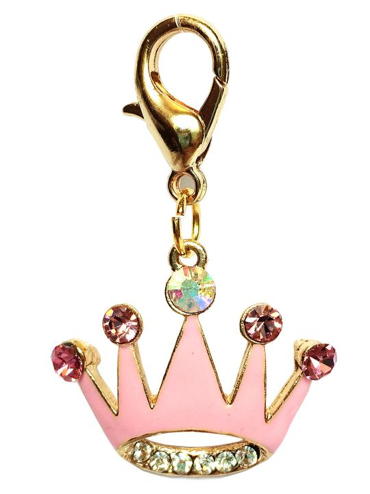 THE DOG SQUAD PRINCESS CROWN DOG COLLAR CHARM