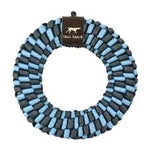 TALL TAILS BRAIDED RING LIGHT BLUE 6""