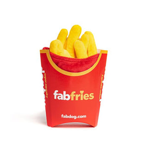 FAB DOG FRENCH FRIES SUPER SQUEAKER