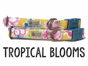 VERY VINTAGE ORGANIC COTTON ANTIC SILVER TROPICAL BLOSSOM COLLECTION